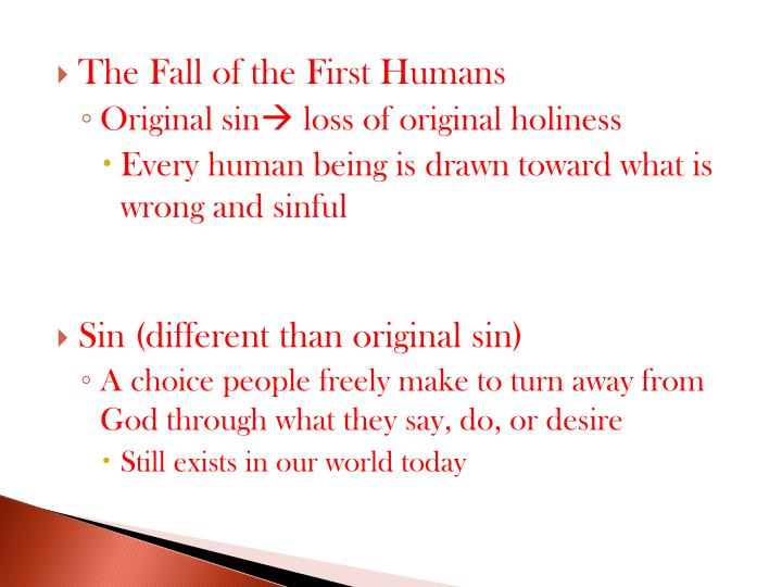 The Fall of the First Humans