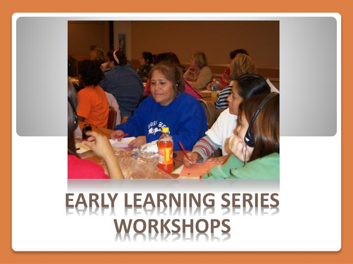 Early Learning Series