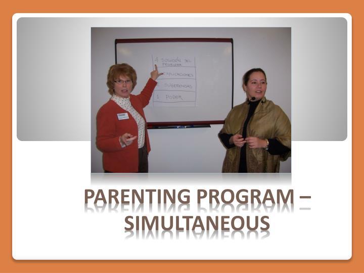 Parenting Program –