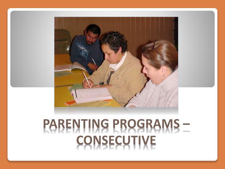 Parenting Programs –