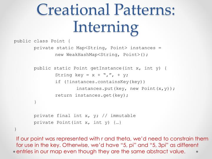 Creational Patterns: