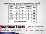 how many boxes should you buy