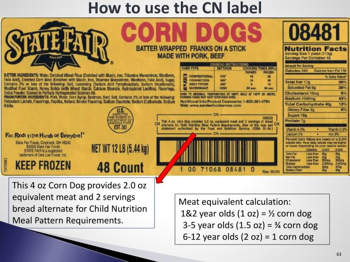 How to use the CN label
