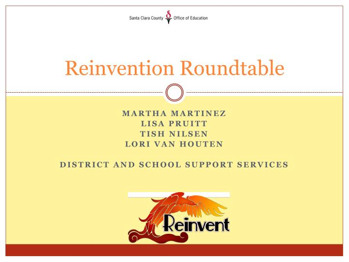 Reinvention roundtable