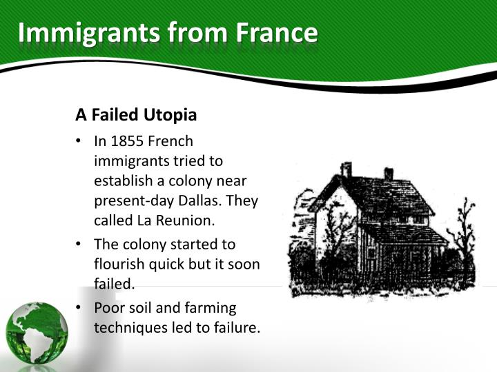 Immigrants from France