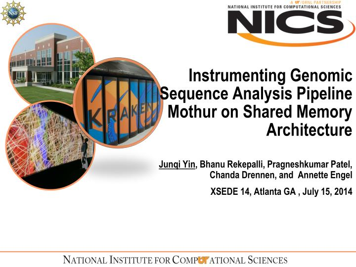 Instrumenting genomic sequence analysis pipeline mothur on shared memory architecture