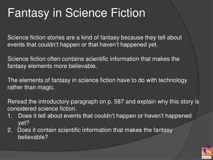 Fantasy in Science Fiction