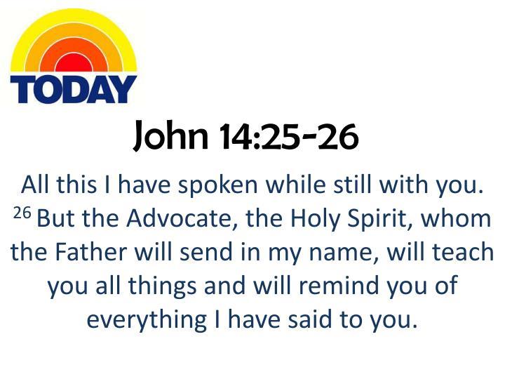 John 14:25-26