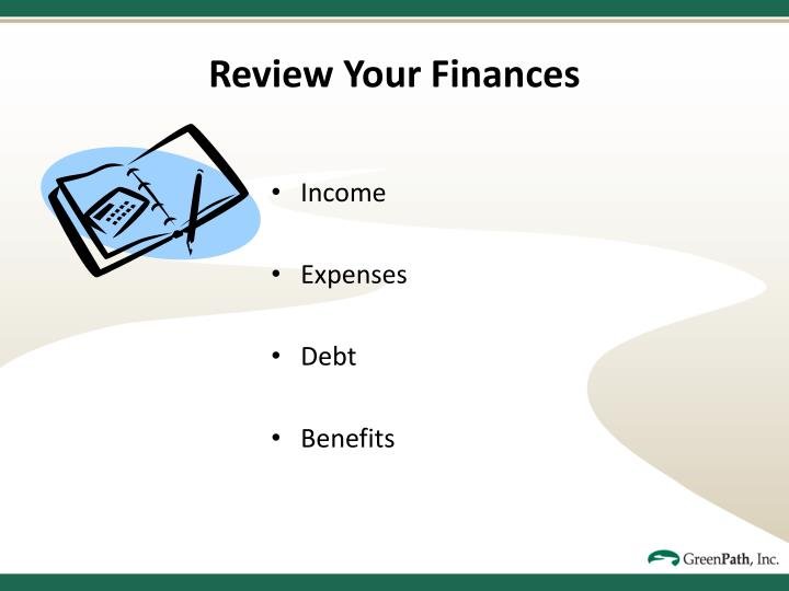 Review Your Finances