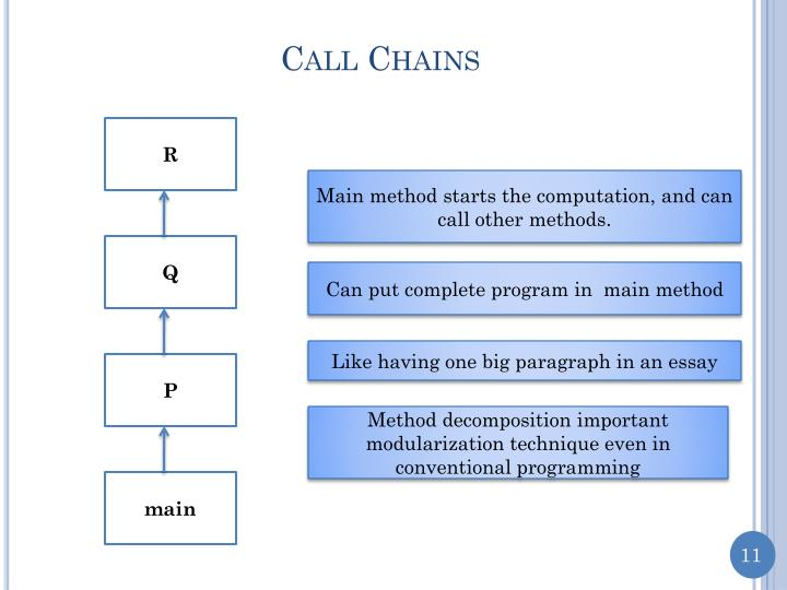 Call Chains