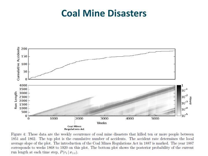 Coal Mine Disasters