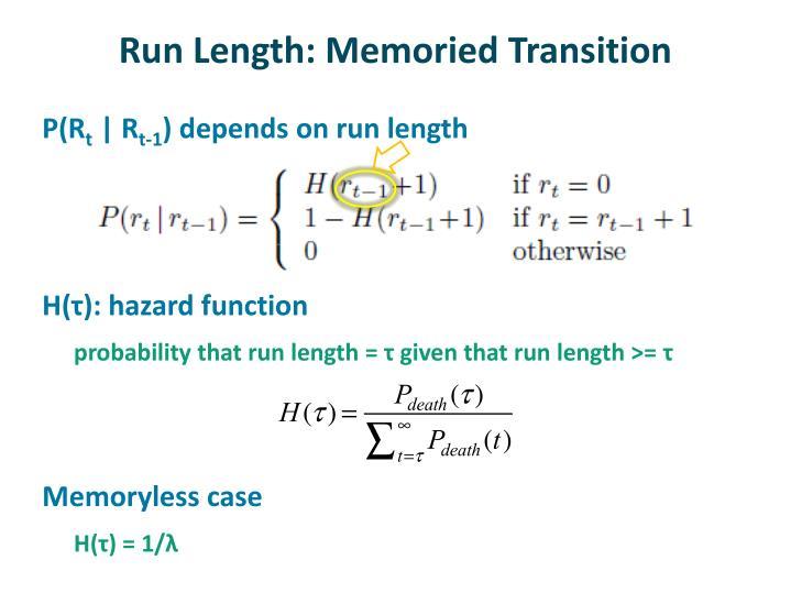 Run Length: