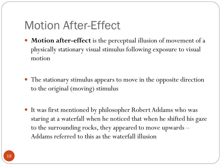 Motion After-Effect