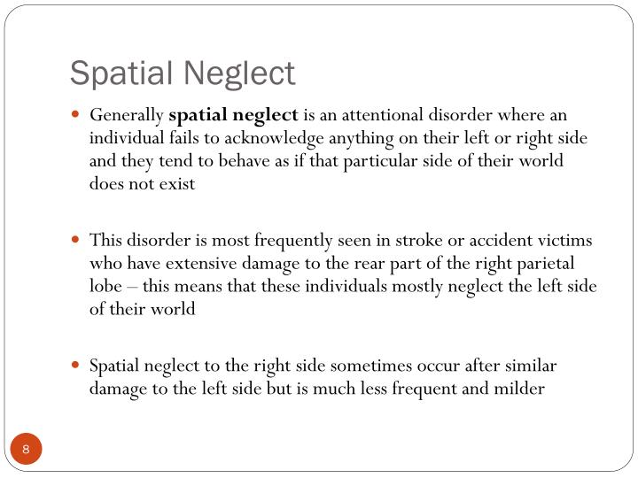 Spatial Neglect