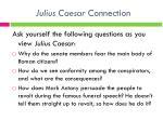 julius caesar connection