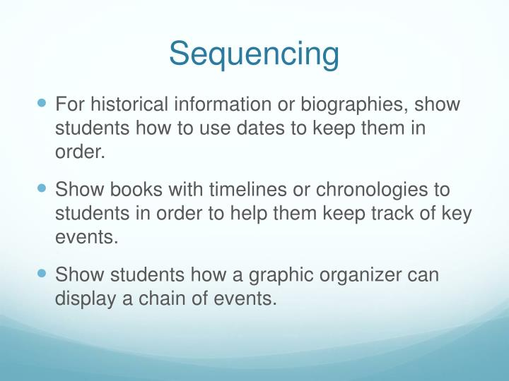 Sequencing2