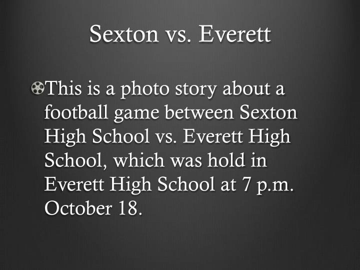 S exton vs everett
