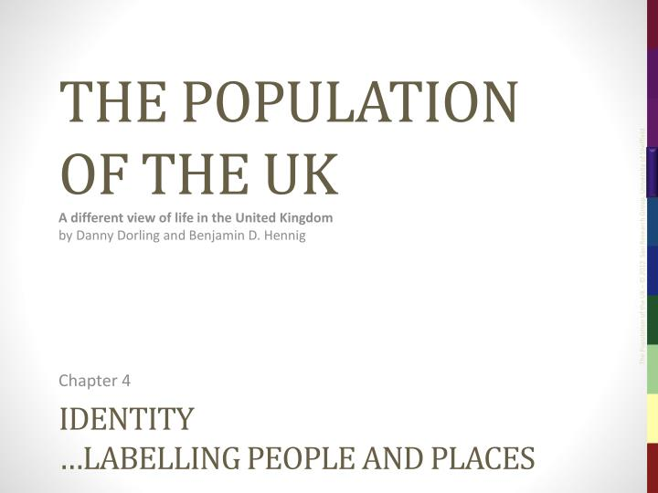Identity labelling people and places