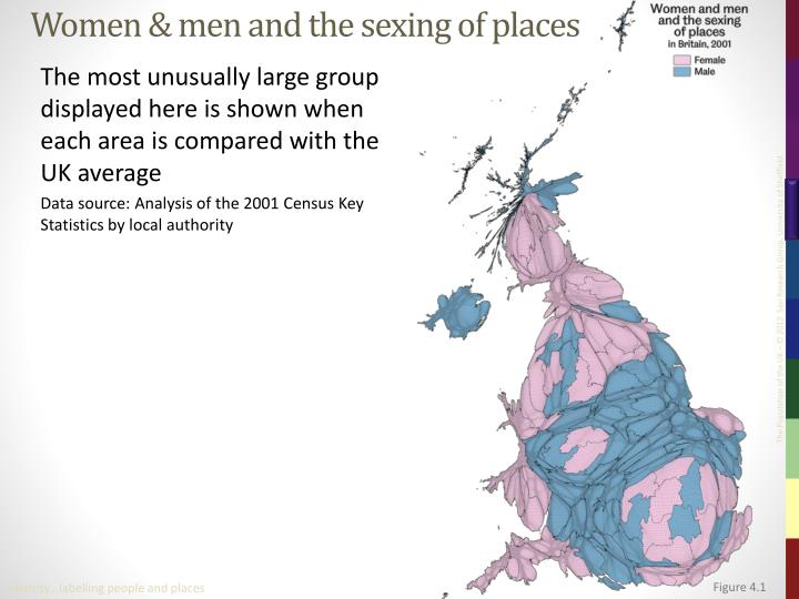 Women men and the sexing of places