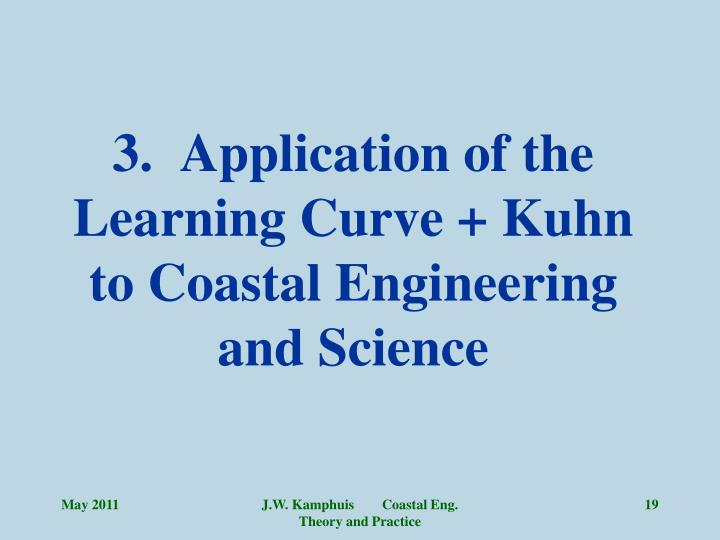 3.  Application of the Learning Curve + Kuhn to Coastal Engineering and Science