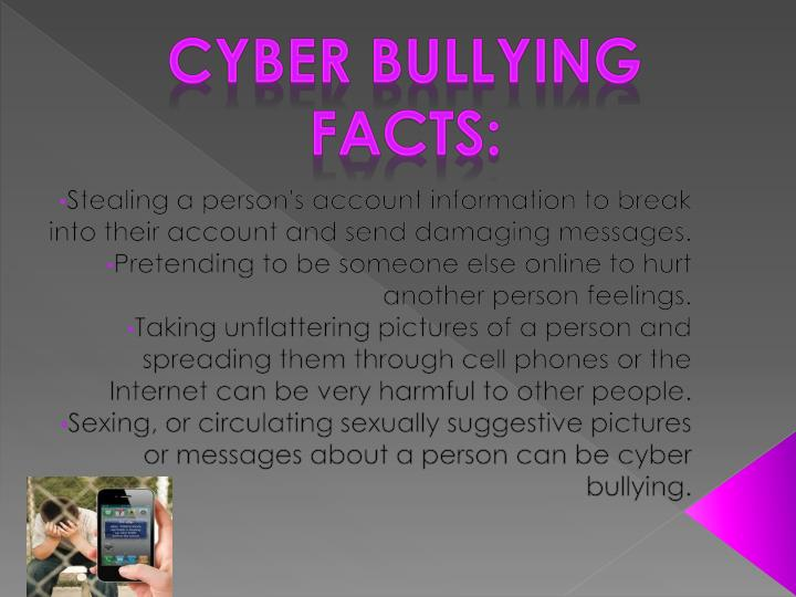 Cyber Bullying Facts: