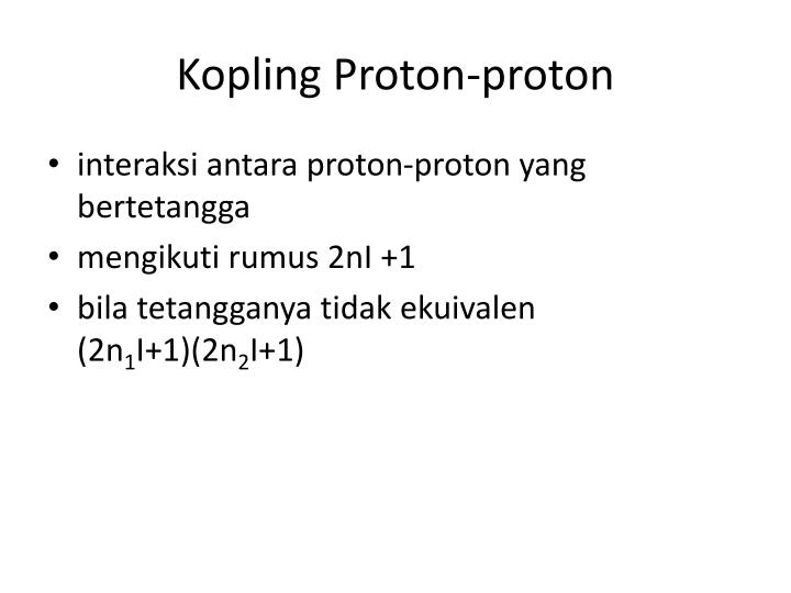 Kopling Proton-proton