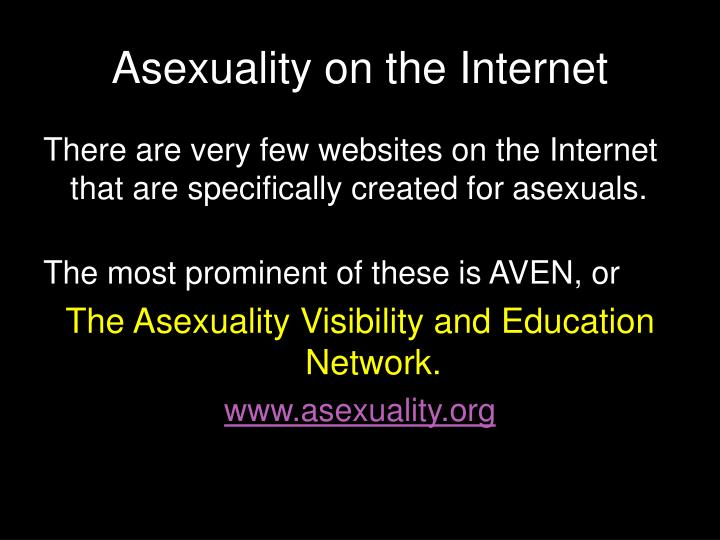 Asexuality on the Internet