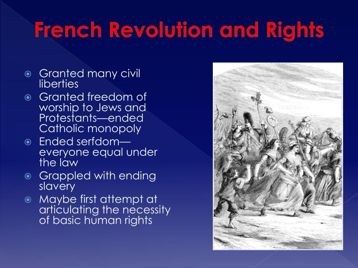 French Revolution and Rights