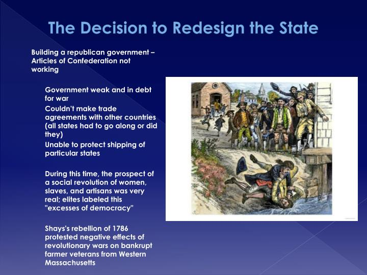 The Decision to Redesign the State