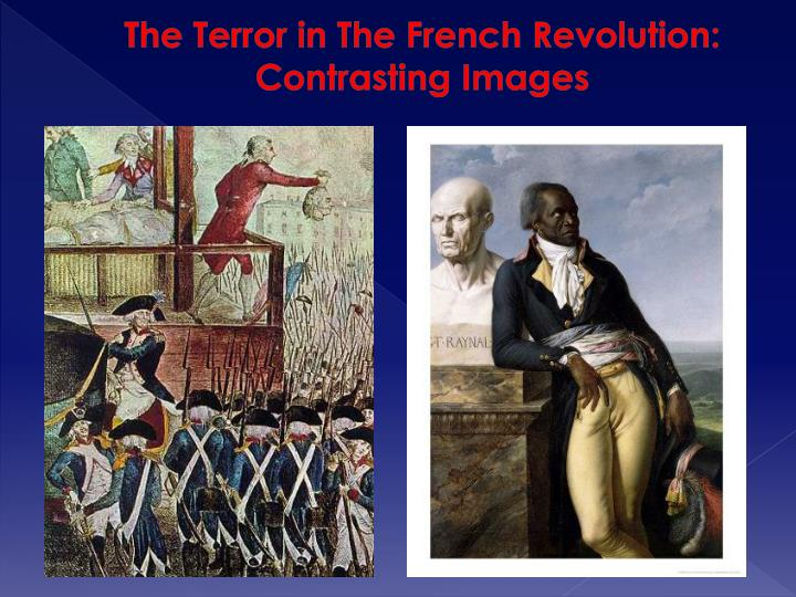 The Terror in The French Revolution: Contrasting Images