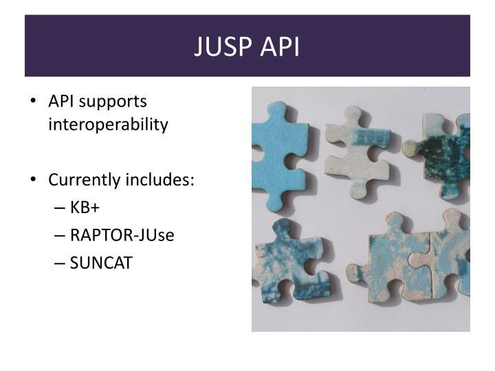 JUSP API