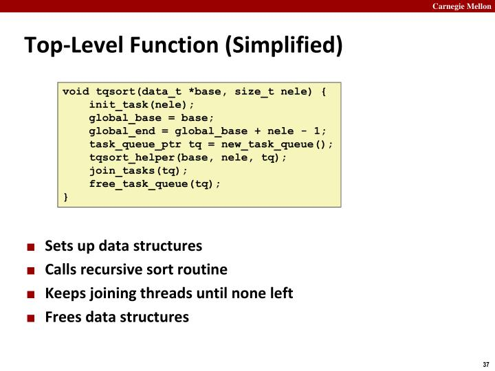 Top-Level Function (Simplified)