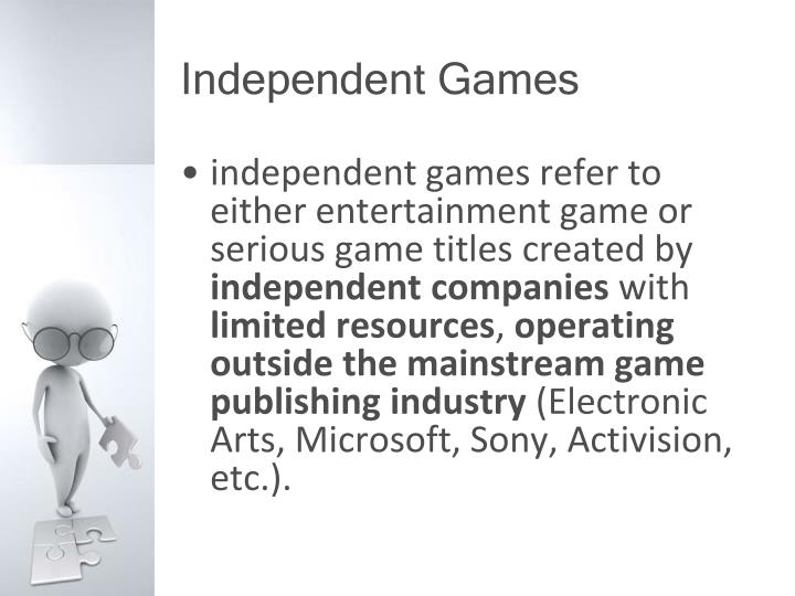 Independent Games