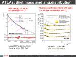 atlas dijet mass and ang distribution