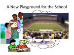 a new playground for the school1