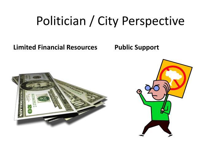 Politician / City Perspective