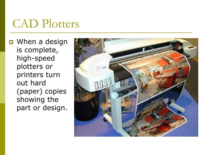 CAD Plotters