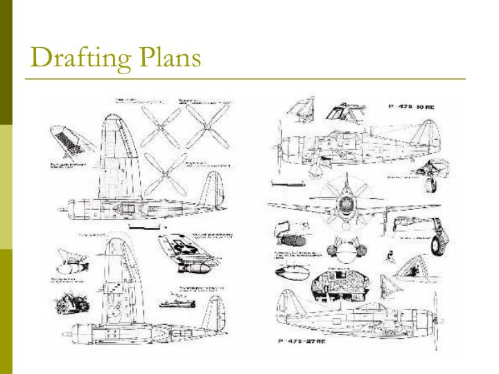 Drafting Plans