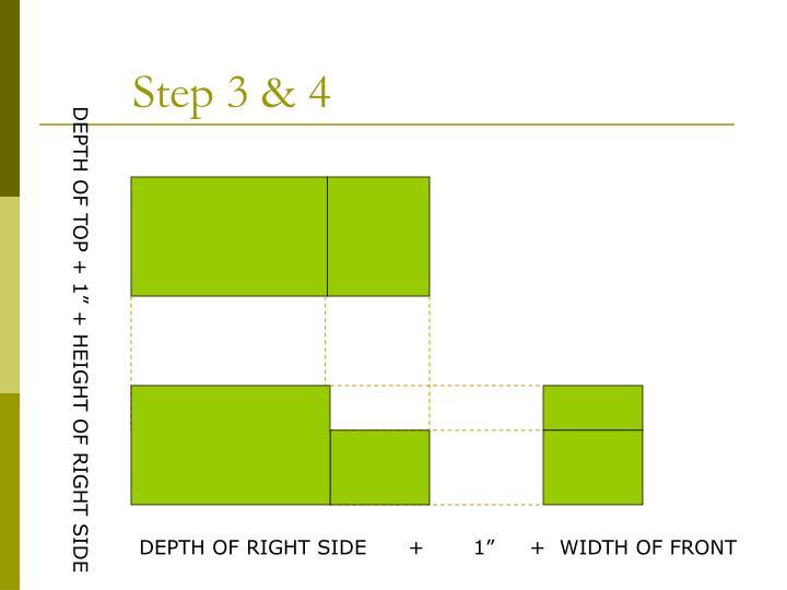 Step 3 & 4