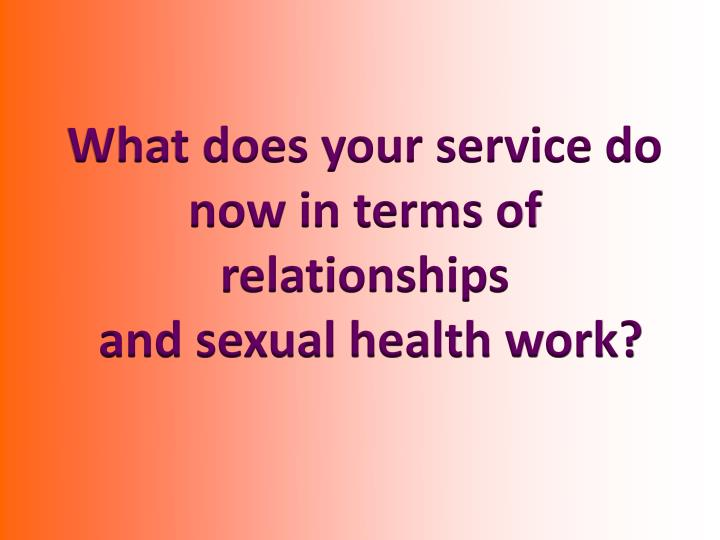 What does your service do