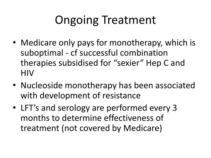 Ongoing Treatment