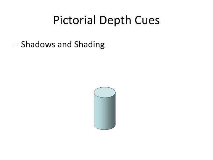 Pictorial Depth Cues