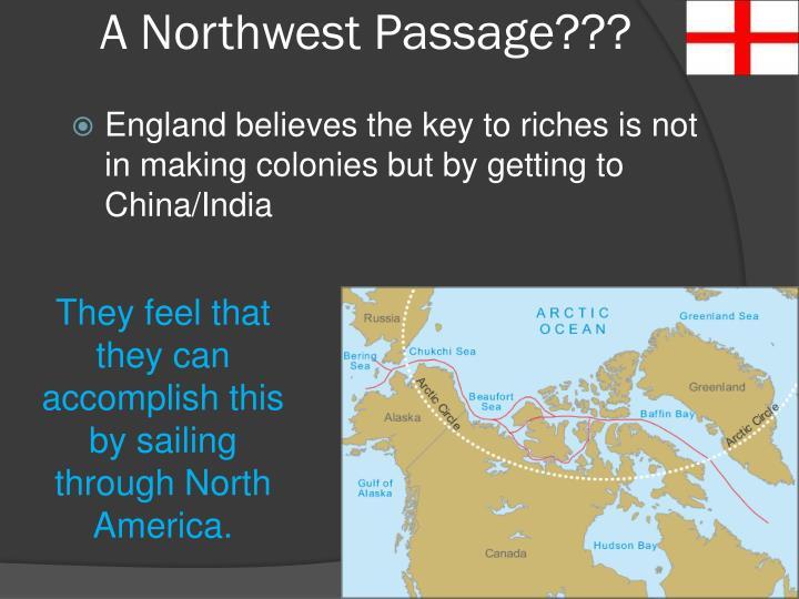 A Northwest Passage???