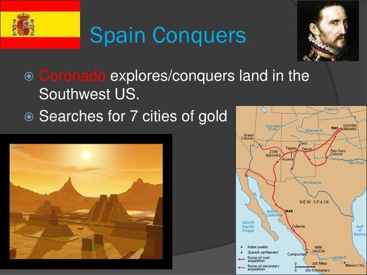 Spain Conquers