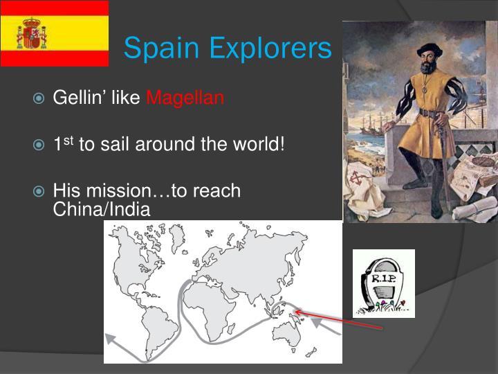 Spain Explorers