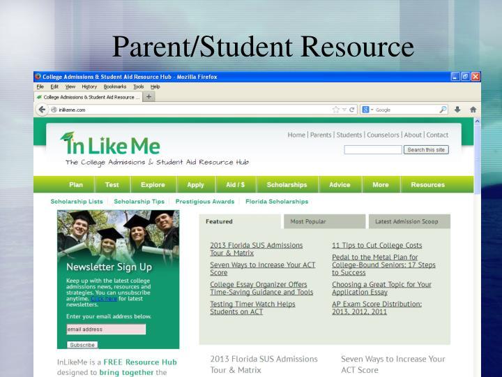 Parent/Student Resource