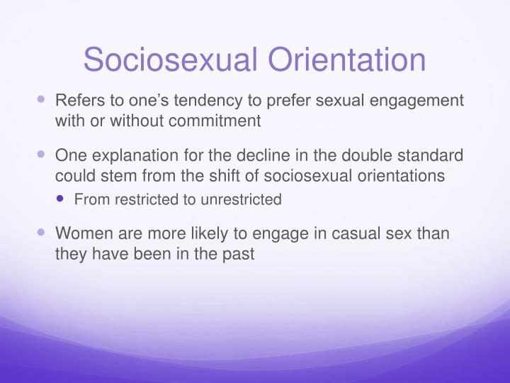 Sociosexual Orientation