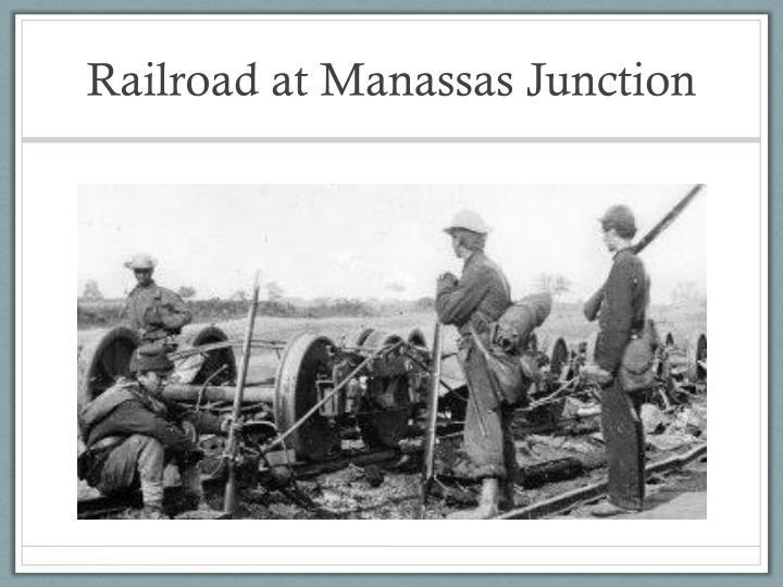 Railroad at Manassas Junction