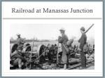railroad at manassas junction