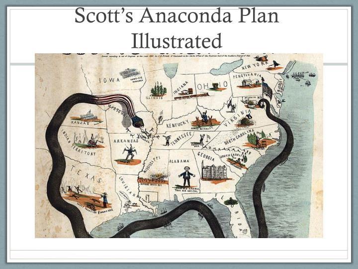 Scott's Anaconda Plan Illustrated
